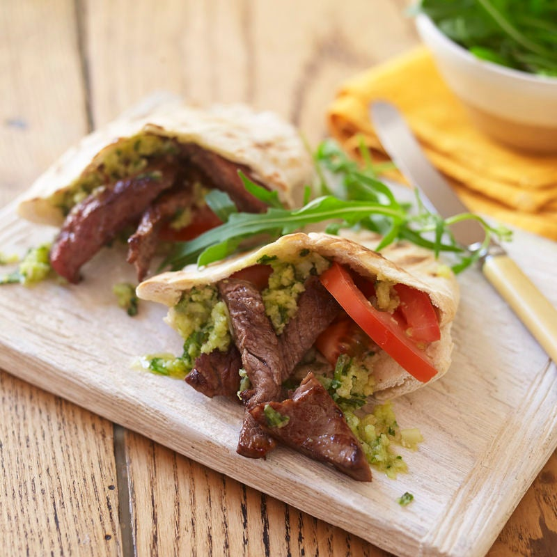 Photo of Steak & pesto pitta by WW