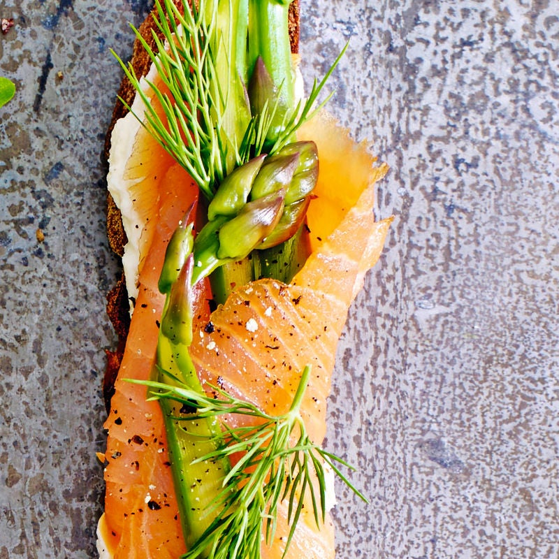 Photo of Smoked salmon & asparagus bruschetta by WW