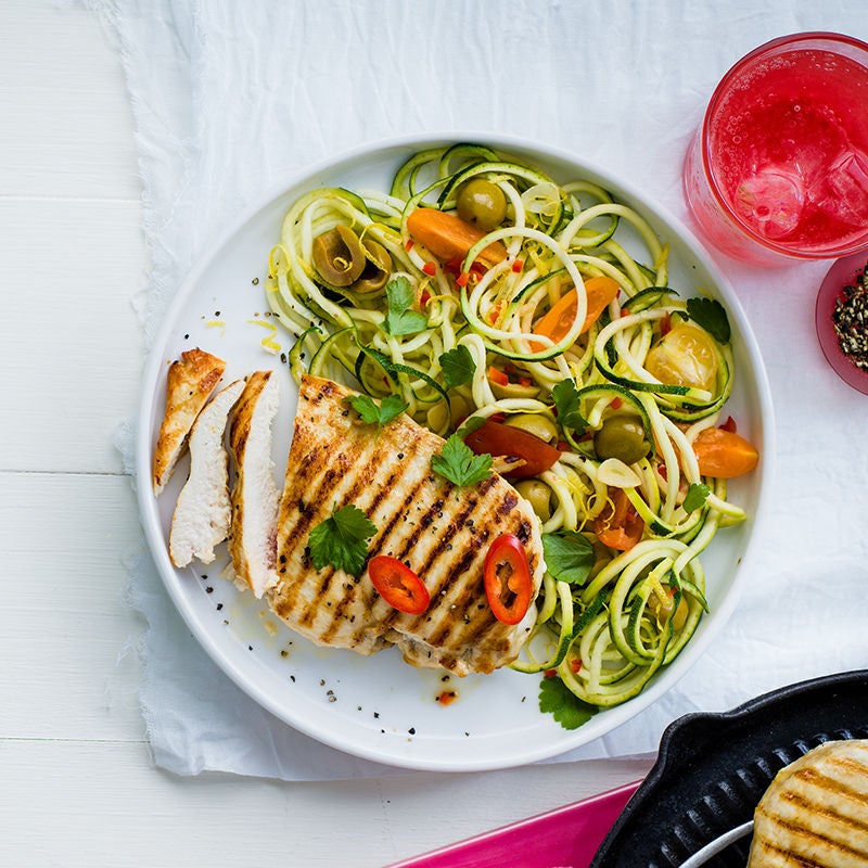 Photo of Lemon & chilli chicken courgetti by WW