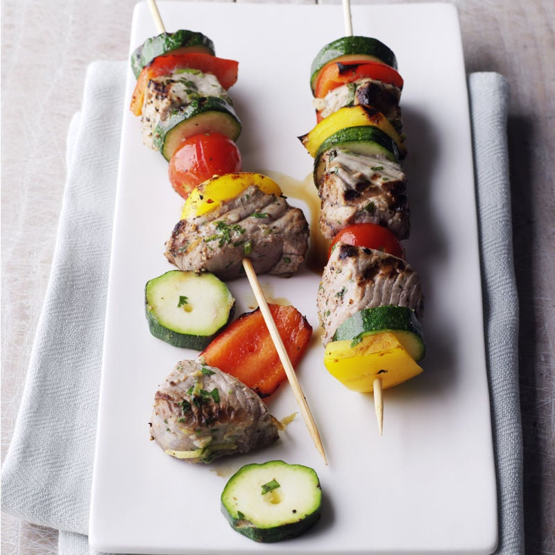 Photo of Char-cooked Tuna Skewers by WW
