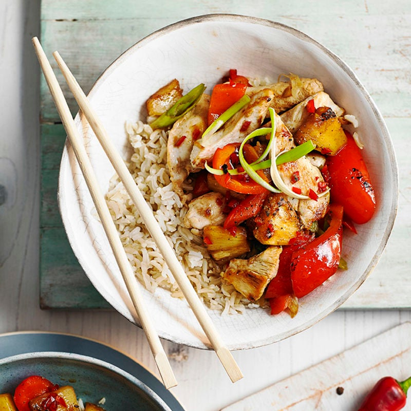Photo of Chicken &  pineapple stir fry by WW