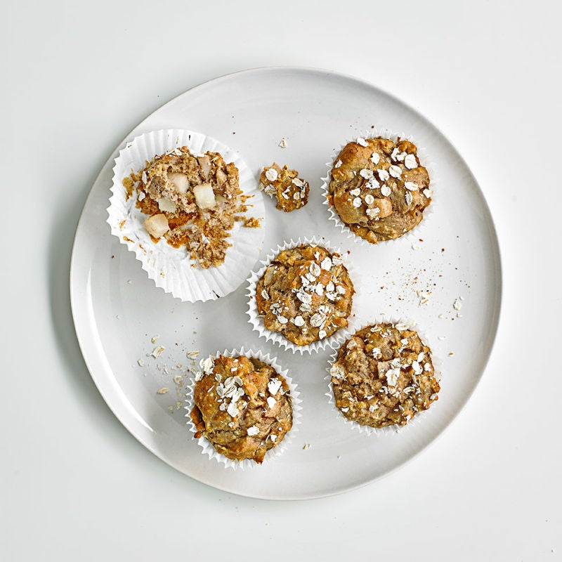 Photo of Pear & cinnamon oat muffins by WW