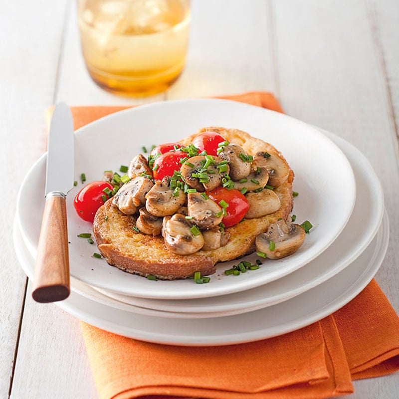 Photo of Savoury French toast with mushrooms & tomatoes by WW