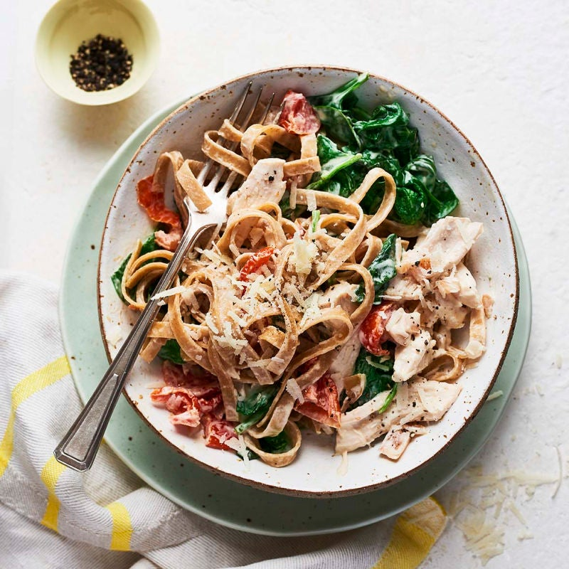 Photo of Chicken Florentine pasta by WW
