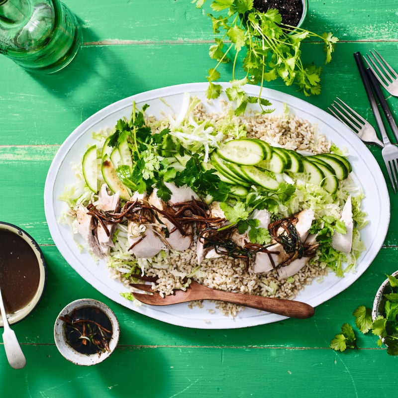 Photo of Hainanese chicken rice by WW
