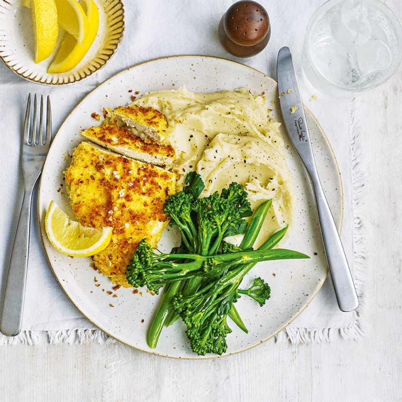 Photo of Parmesan-crusted chicken breast by WW