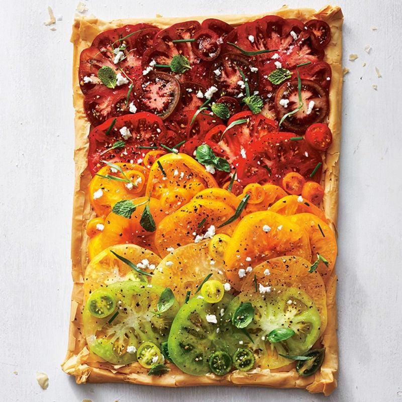 Photo of Tomato, feta & fresh herb tart by WW