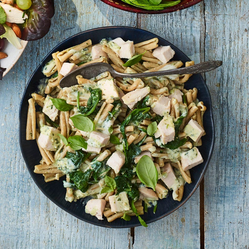 Photo of Chicken with pesto pasta by WW