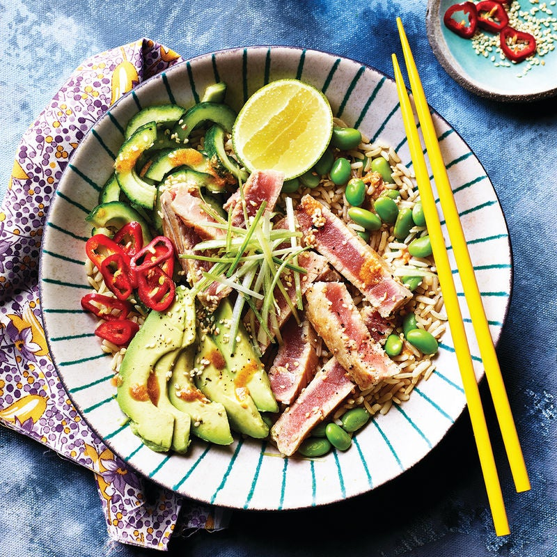 Photo of Seared tuna rice bowl by WW