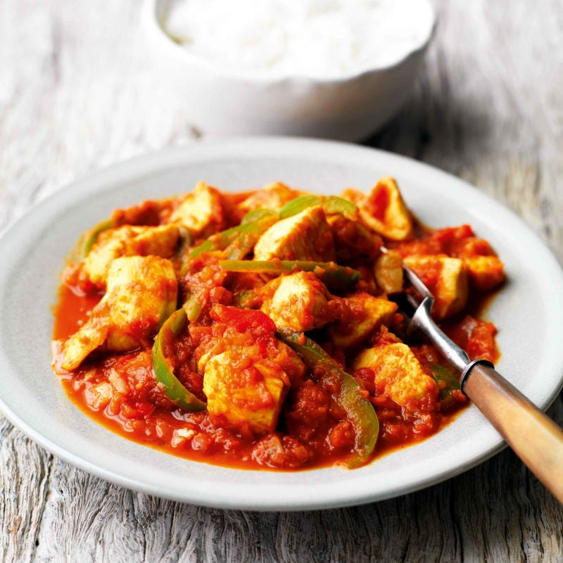 Photo of Chicken jalfrezi & rice by WW