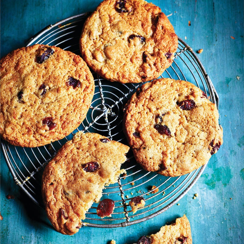Photo of Spiced orange & cranberry cookies by WW