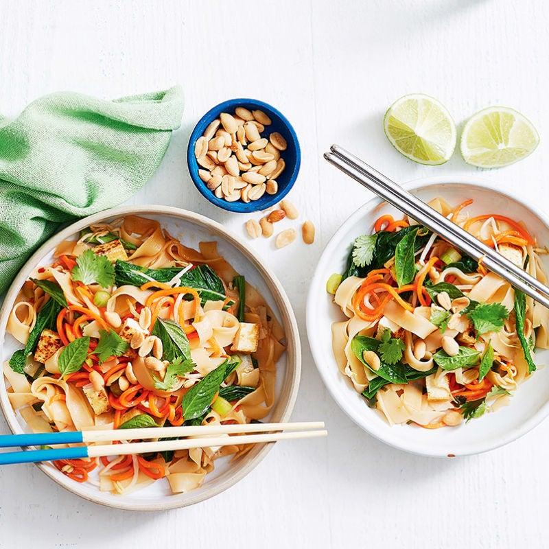 Photo of Vegetarian pad Thai by WW