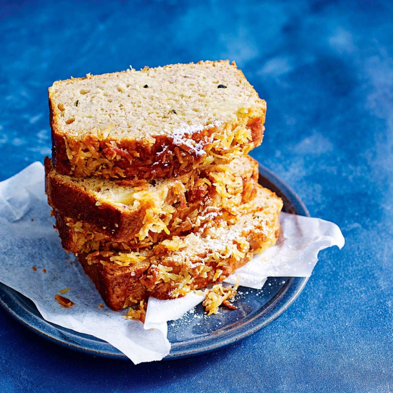 Photo of Banana, passion fruit & pineapple loaf by WW