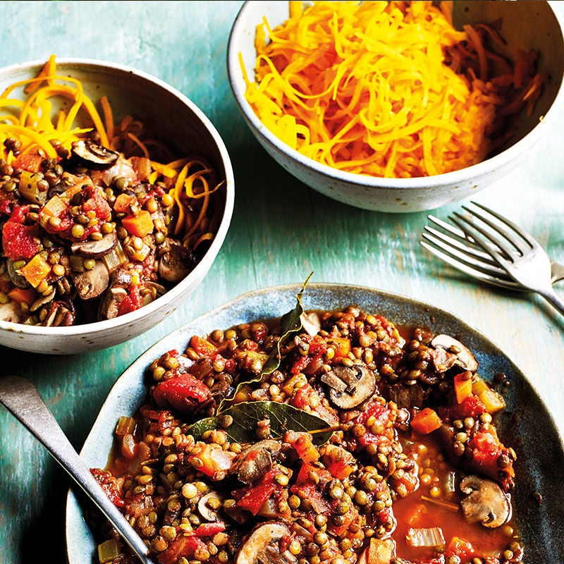 Photo of Mushroom & lentil ragù with boodles by WW