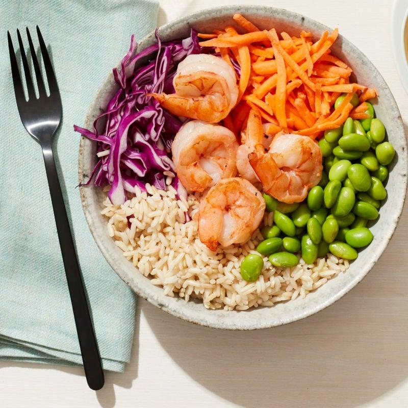 Photo of Asian prawn & veggie bowl by WW