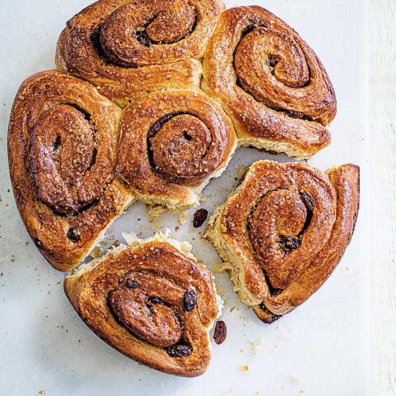 Photo of Cinnamon & raisin swirl buns by WW