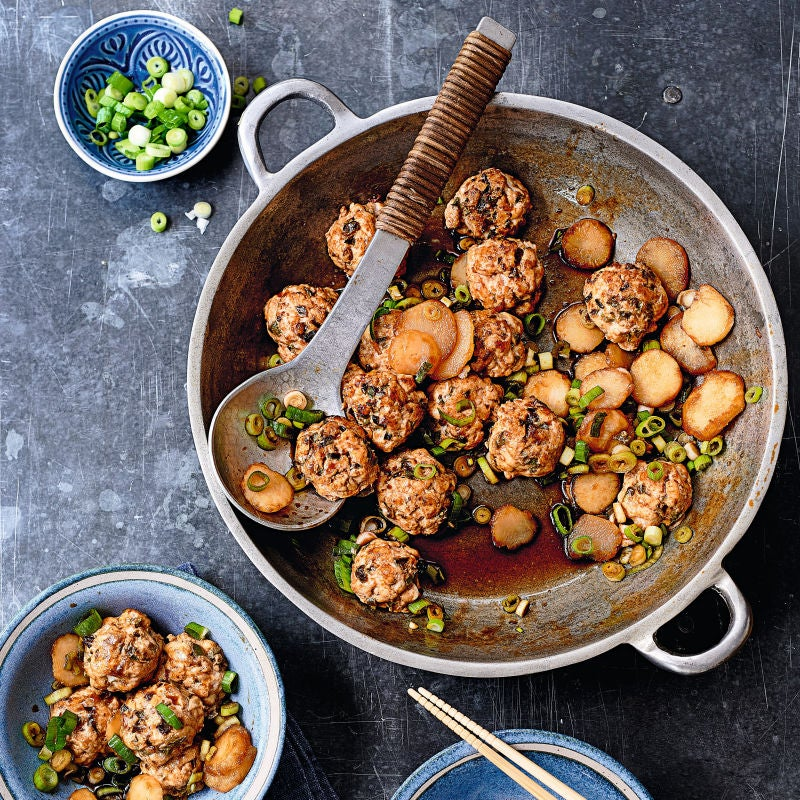 Photo of Asian-style meatballs by WW