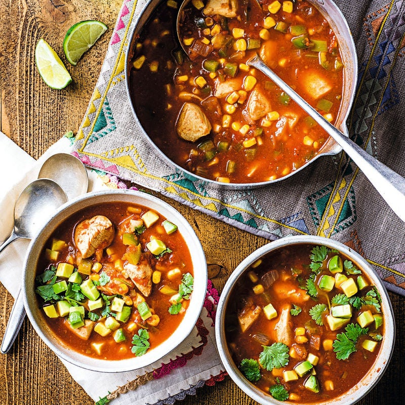 Photo of Mexican-style chicken soup by WW