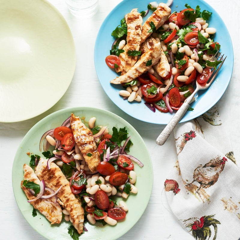Photo of Chicken & cannellini bean salad by WW