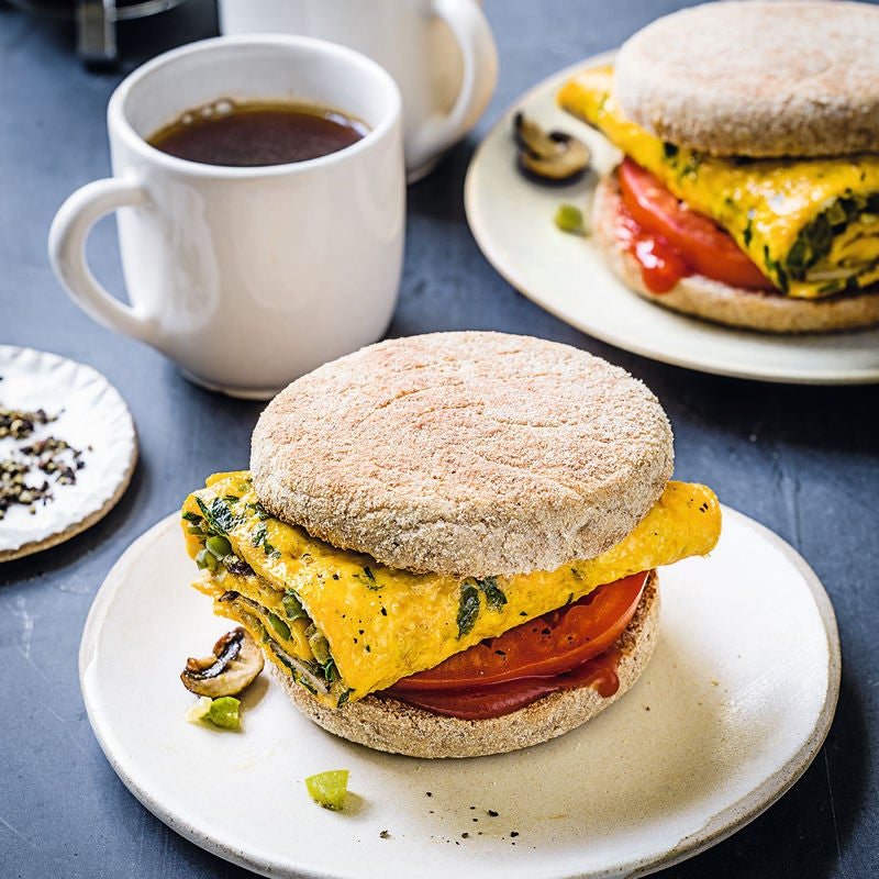 Photo of Veggie omelette muffins by WW