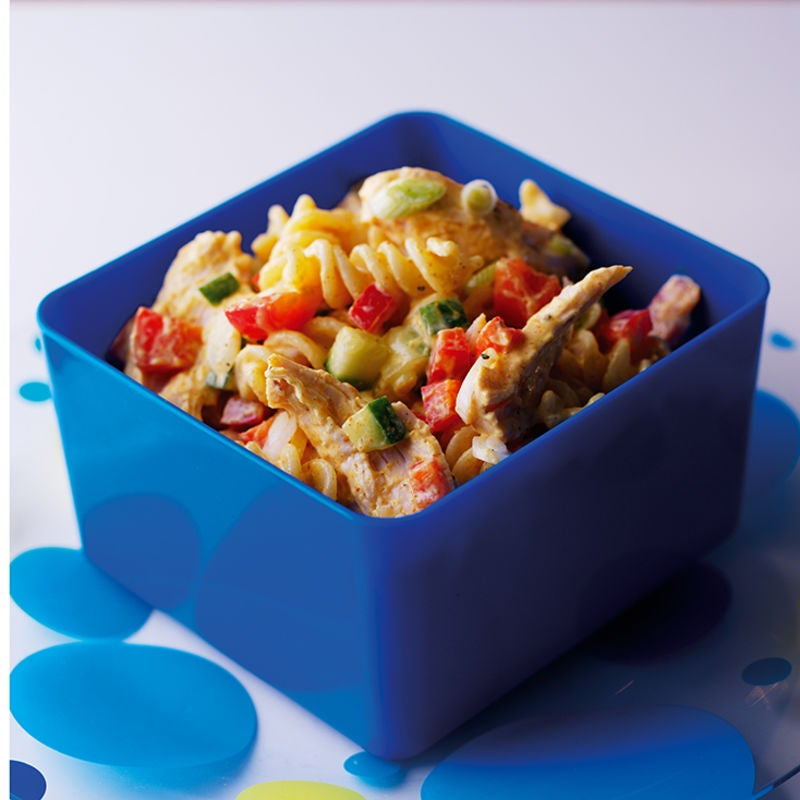 Photo of Lunchbox chicken curry pasta by WW