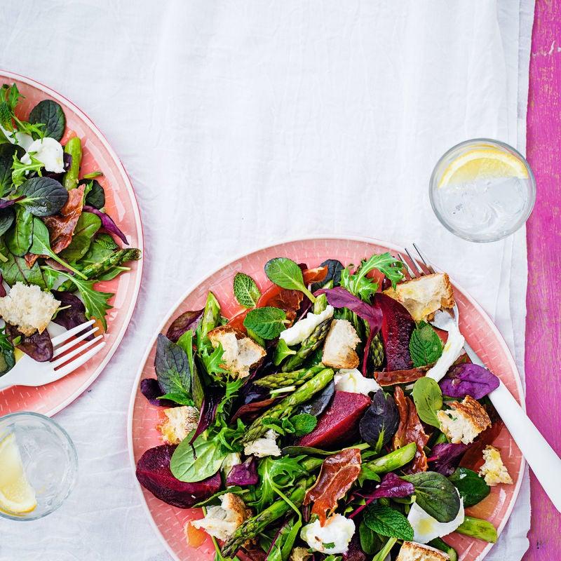 Photo of Parma ham, beetroot & mozzarella salad by WW