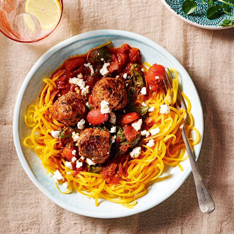 Photo of Boodles with harissa meatballs by WW