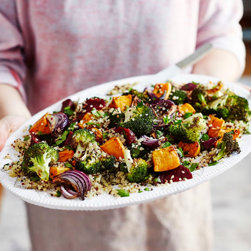 Photo of Quinoa & roasted veg salad by WW