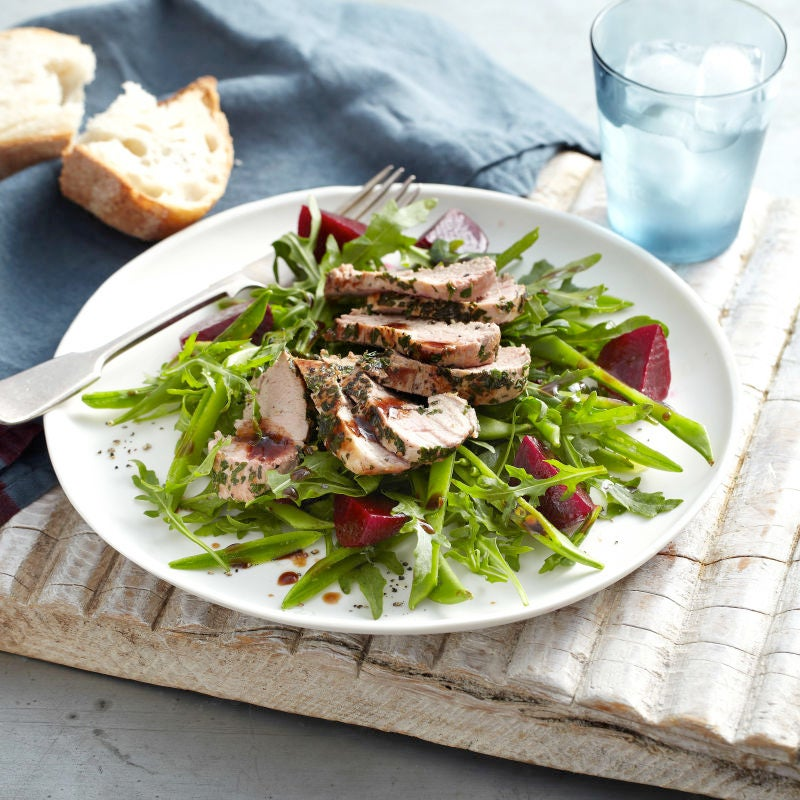 Photo of Sage & parsley rubbed pork with beetroot salad by WW