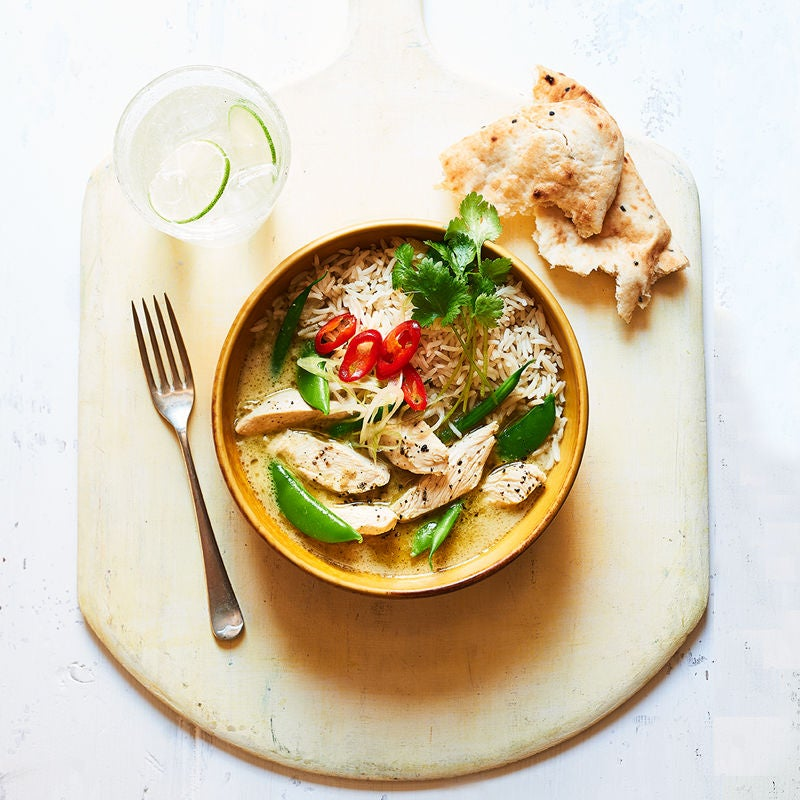 Photo of Speedy Thai green chicken curry by WW