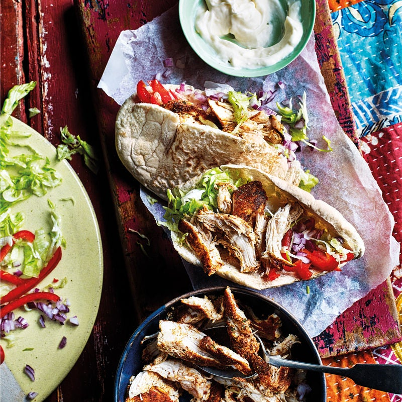 Photo of Cajun chicken pittas by WW