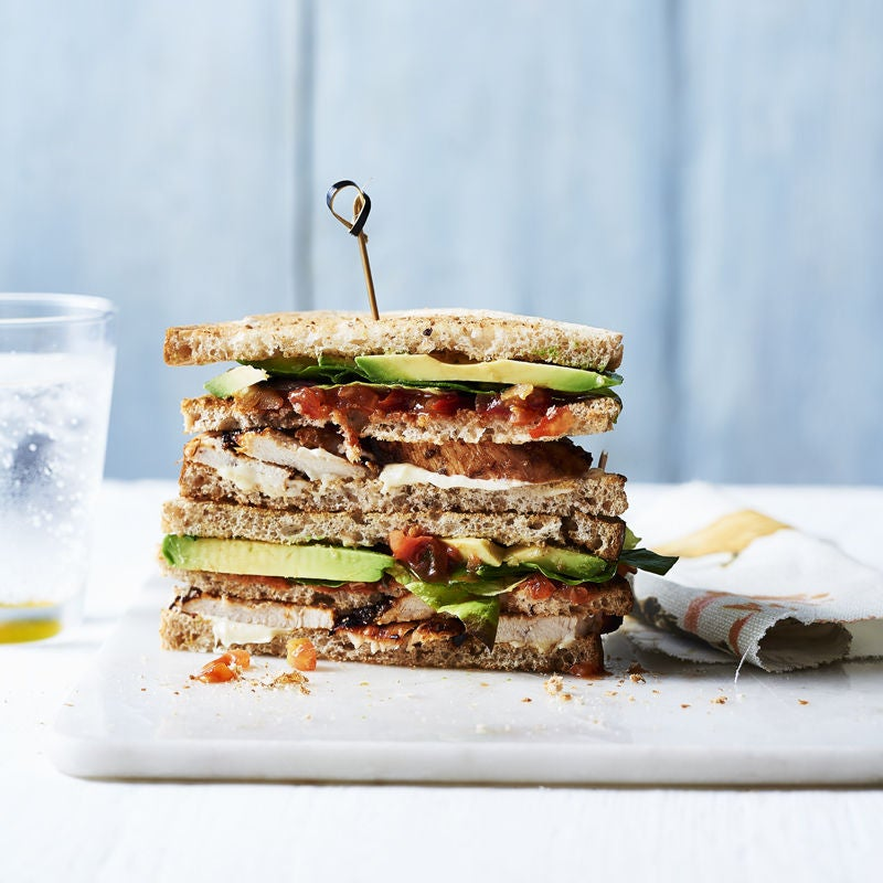 Photo of Chipotle chicken club sandwich by WW
