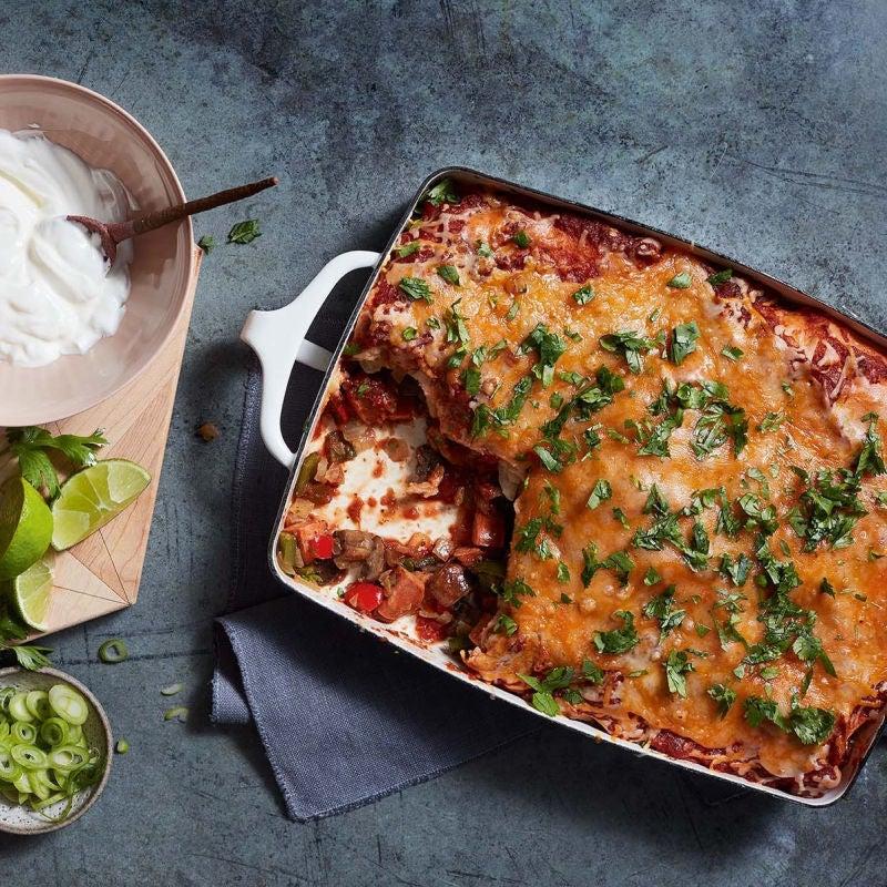 Photo of Chorizo & veggie enchiladas by WW