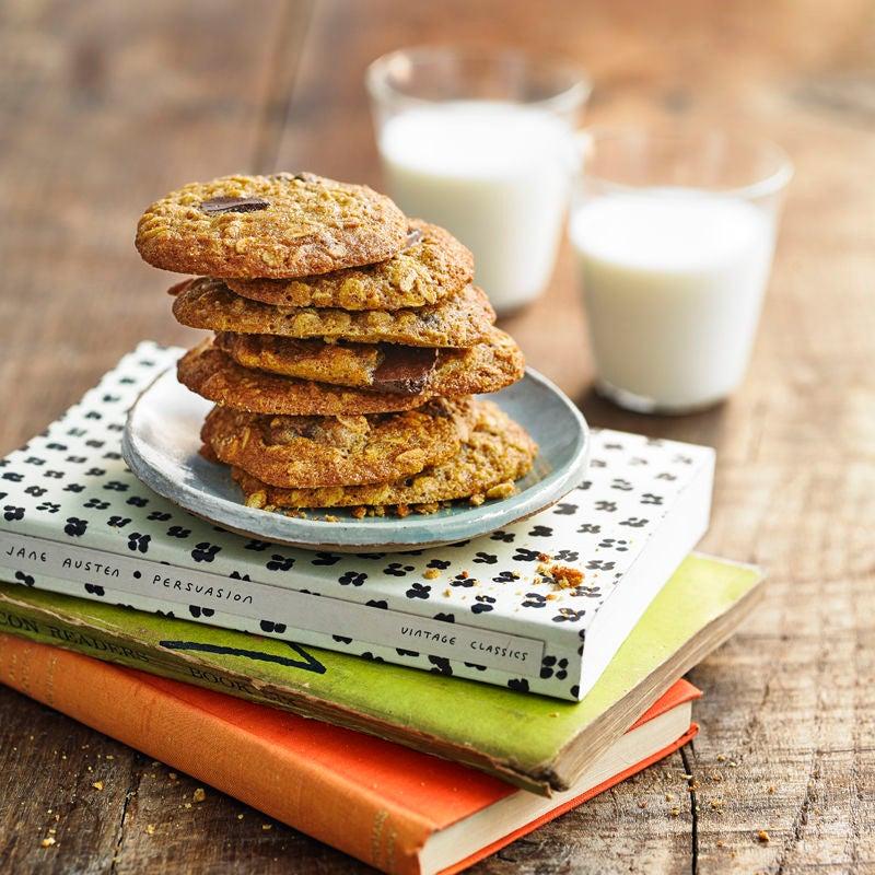 Photo of Chocolate chunk oatmeal cookies by WW