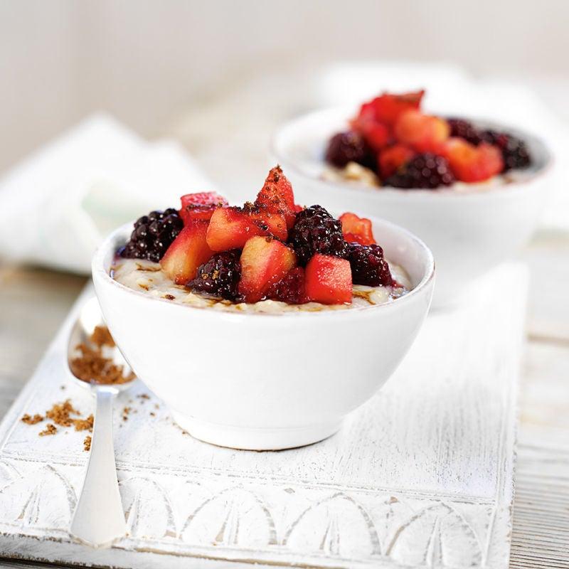 Photo of Blackberry & apple porridge by WW