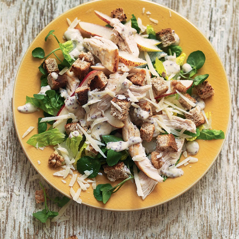 Photo of Chicken Caesar with pear & walnuts by WW