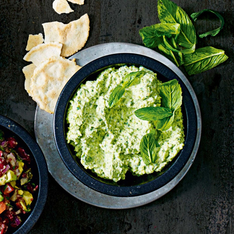 Photo of Broad bean & mint dip by WW