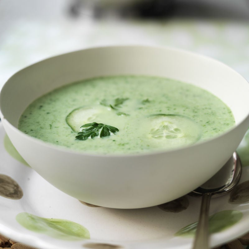 Photo of Chilled cucumber & herb soup by WW