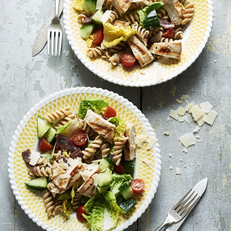 Photo of Chicken Caesar pasta salad by WW