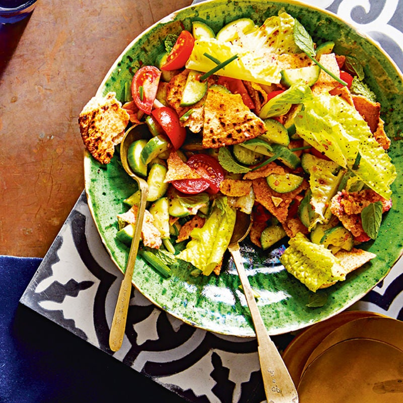Fattoush Salad Healthy Recipe Ww Uk