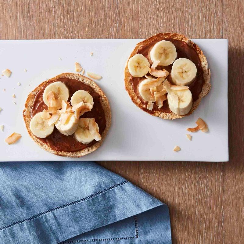 Photo of Chunky monkey breakfast pizzas by WW