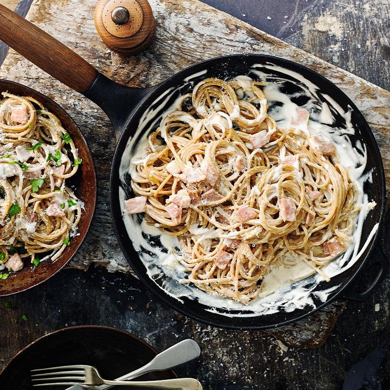 Photo of Wholewheat spaghetti carbonara by WW