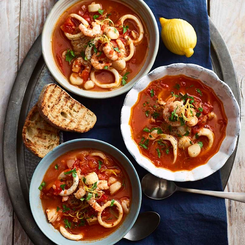 Photo of Mediterranean seafood stew by WW