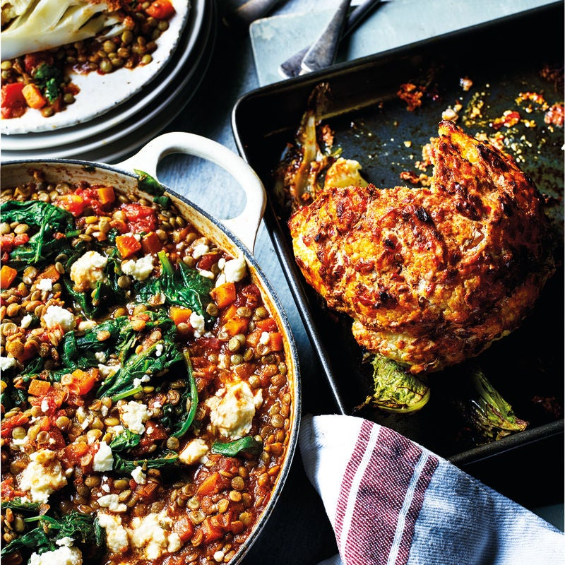 Photo of Roasted cauliflower with spicy lentils by WW