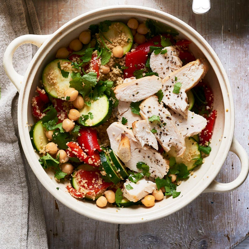 Photo of Moroccan chicken & couscous salad by WW