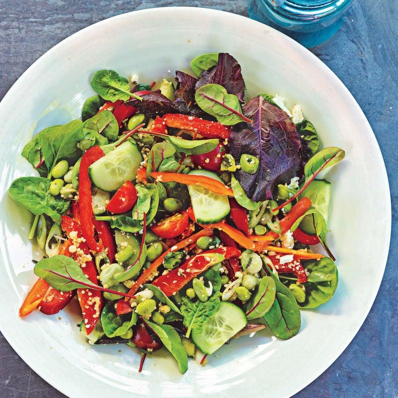 Photo of Edamame salad by WW