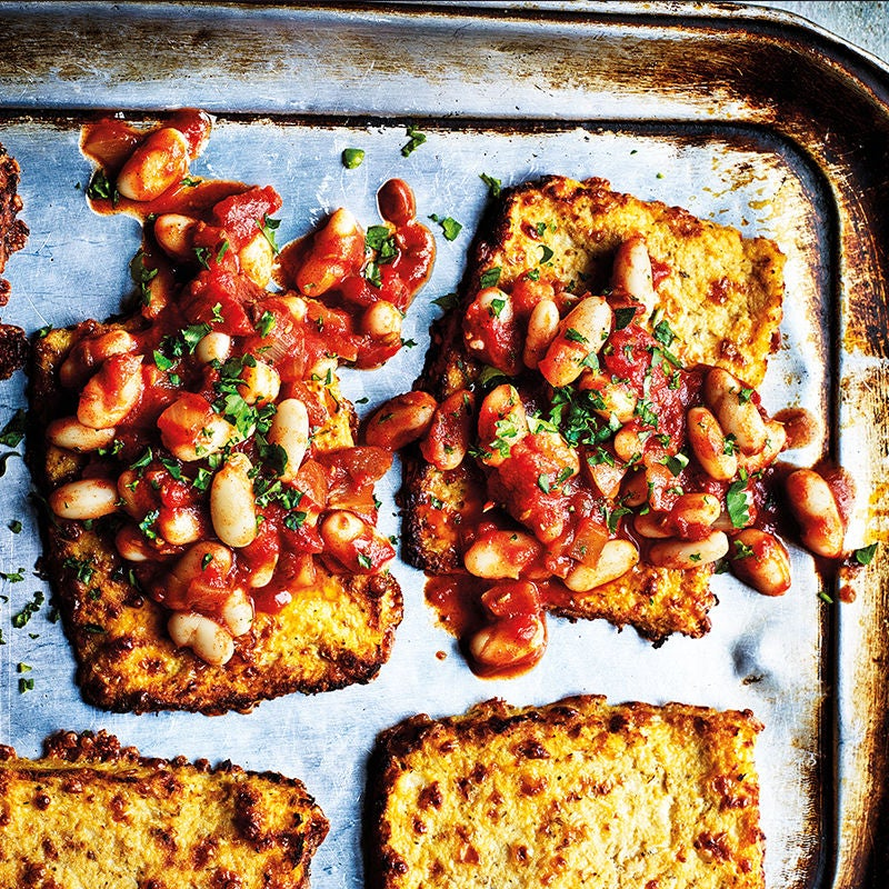 Photo of Cauliflower toasts with spicy baked beans by WW