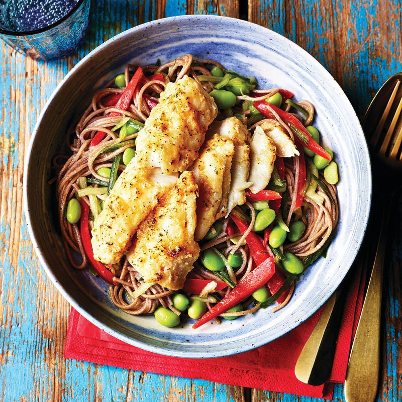 Photo of Miso cod with  soba noodles by WW