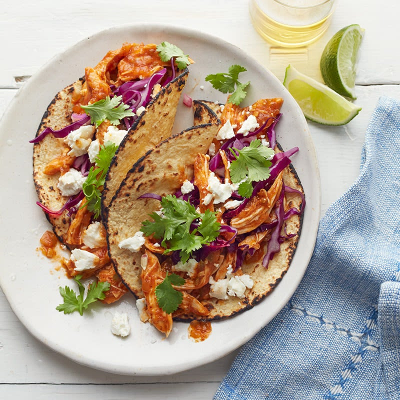 Photo of Spicy chicken tacos by WW