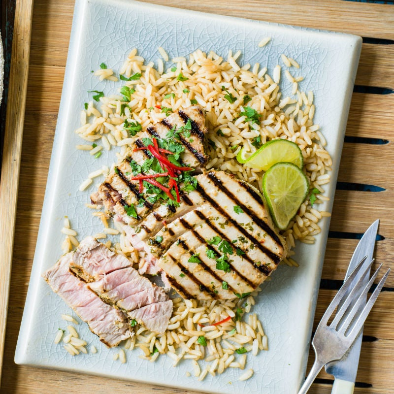 Photo of Asian-style tuna steaks by WW